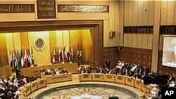 시리아 사태를 논의하는 아랍연맹 외무장관 회의(자료사진)