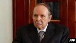 阿爾及利亞總統布特弗利卡再次贏得總統選舉。