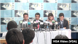 """کنفرانس خبری بنیاد انتخابات شفاف افغانستان""""فیفا"""""""