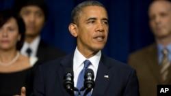 9月16日奧巴馬在白宮講話。