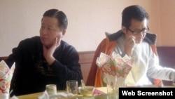高智晟(左)和郭飞雄(网络图片)