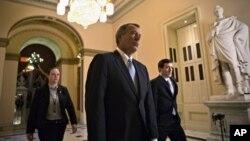 Chủ tịch Hạ viện John Boehner tại Ðiện Capitol, ngày 15/1/2013.