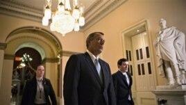Serokê Civata Nûneran John Boehner li holeke Kongresê