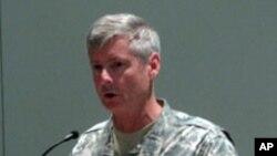 27일 미 육군협회 연례회의에 참석한 월터 샤프 주한미군 사령관