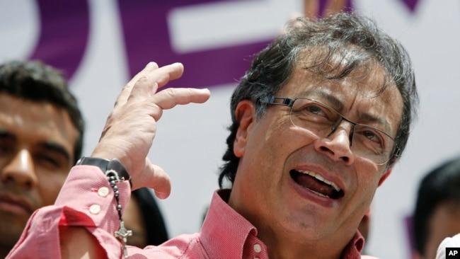 El exguerrillero y exalcalde de Bogotá Gustavo Petro le disputa la presidencia de Colombia al favorito Iván Duque.