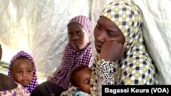 Beaucoup d'enfants font partie des quelque 7000 réfugiés vivant dans le camp de Dar Es Salam à Baga-Sola (ouest du Tchad).