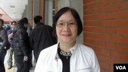国民党籍立委罗淑蕾3月25日在立法院(申华拍摄)