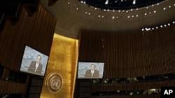 지난 9월 열린 제66차 유엔총회 (자료사진)