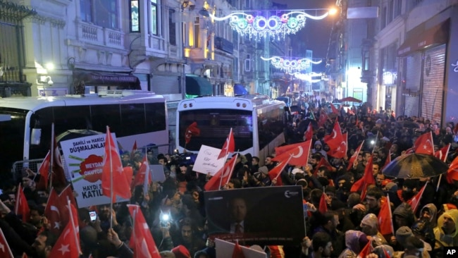Protests Erupt Over Turkey Campaigning in the Netherlands