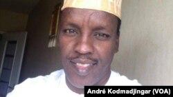 L'ex sous-préfet de Yébibou Molly Sougui, actuel porte-parole d'un groupe d'autodéfense à Miski, le 30 novembre 2018. (André Kodmadjingar)