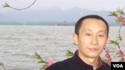 中国网络作家昝爱宗 (资料照片)