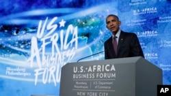 El presidente Obama remarcó que las personas no quieren hacer negocios en lugares donde las leyes cambian constantemente o depende de quién eres.