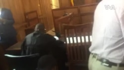 Teargas in Court