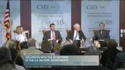 时事看台(斯洋):美各军种高官谈美军备战,强调中俄威胁