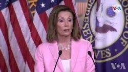 Prezidan Chanm Depite Etazini an Nancy Pelosi Ap Patisipe nan yon Rankont sou Kriz Peyi Dayiti a