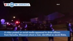 VOA60 Ameerikaa - A social media video appears to show police shoot a man in the back seven times