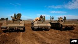 اسرائیل نے گولان کی پہاڑیوں پر مبینہ مشتبہ سرگرمیوں کے بعد مزید فوجی اہلکار تعینات کیے ہیں۔ (فائل فوٹو)