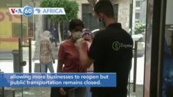 VOA60 Africa - Algeria's government implements the second stage of lifting the coronavirus lockdow