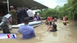 Campuchia: Lũ quét tràn vào thủ đô, ít nhất chục người chết