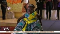 Des mannequins handicapées défilent au Cameroun