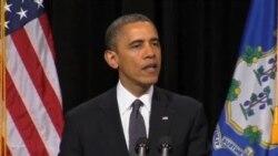 奧巴馬誓言不讓小學槍擊案悲劇重演