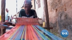 Guinea Bissau Weaver Takes Pride in Traditional Creations