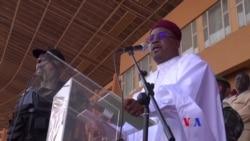 Dernier meeting de campagne de Mahamadou Issoufou au stade Seyni Kountché