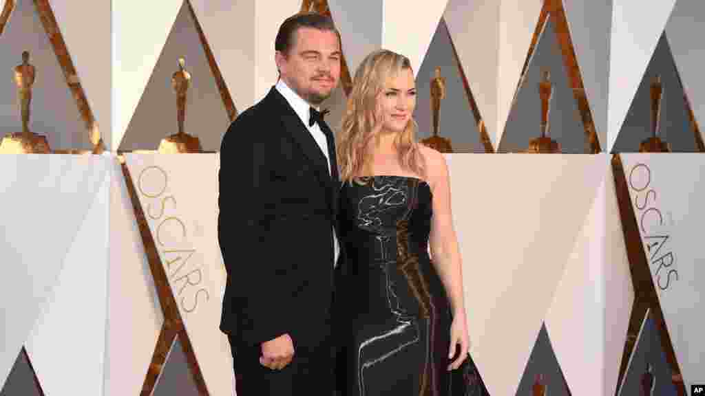 Leonardo Dikaprio va Keyt Uinslet