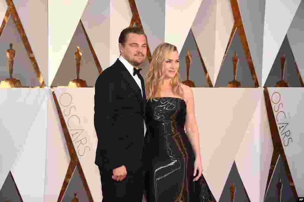 Leonardo DiCaprio ve Kate Winslet