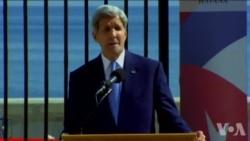 美驻古巴使馆升旗 议员批克里不提政治犯