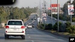 اسلام آباد میں ایک ماہ کے دوران امریکی سفارت کاروں کی گاڑیوں کو دو حادثات پیش آچکے ہیں۔ (فائل فوٹو)