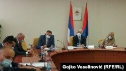 Sastanak lidera stranaka iz entiteta RS