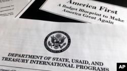 Dự thảo ngân sách của chính quyền Tổng thống Donald Trump đối với Bộ Ngoại giao, Cơ quan viện trợ nước ngoài.
