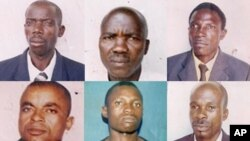 Detainees from Angola - Lunda province