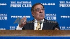 US Defense Secretary Leon Panetta Dec. 18, 2012