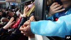 이산가족 상봉 마무리...우크라이나 정국 혼란