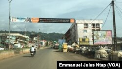Ville de Bamenda, Cameroun, le 20 mai 2018. (VOA/Emmanuel Jules Ntap)