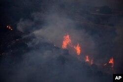 미국 서부 캘리포니아주 산불