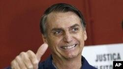 Tổng thống cực hữu mới đắc cử của Brazil, Jair Bolsonaro