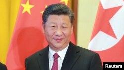 Le président chinoisXi Jinping à Beijing, Chine, 20 juin 2018.