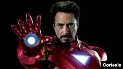 "Robert Dauni Džunior u ulozi Tonija ""Ironman"" Starka u trećem delu serijala"