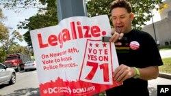 Ініціатива 71 - закон щодо легалізації марихуани у столиці США, який виборці Вашингтона підтримали восени 2014-го року.