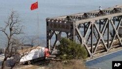 貿易物資從這裡運往北韓