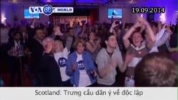 Scotland sẽ vẫn là một phần của Vương quốc Anh (VOA60)