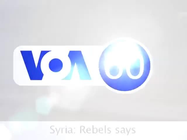 Syria: Rebels says they now control main air base in the north -VOA60 World