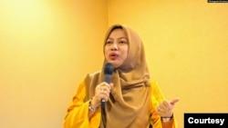 Titi Anggraini, mantan direktur eksekutif Perludem. (Foto courtesy: Titi Anggraini)