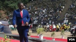 Kudzai Chipanga, leader of Zanu-PF Youth Leaque