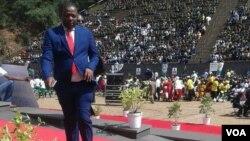FILE: Unobhala jikelele wohlangothi lwabasakhulayo kubandla leZANU-PF, olwe Youth League, uMnu. Kudzai Chipanga