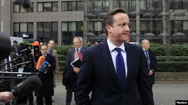 Մեծ Բրիտանիայի վարչապետ Դեյվիդ Քեմերոն