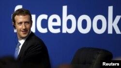 مارک زاکربرگ مؤسس و مدیر اجرایی شرکت فیسبوک